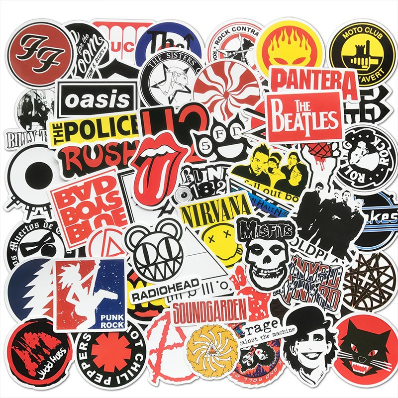 Stickers Vintage Pack de 50