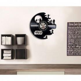 horloge vinyle star wars