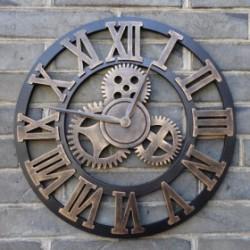 Horloge Murale Industrielle Pas Cher