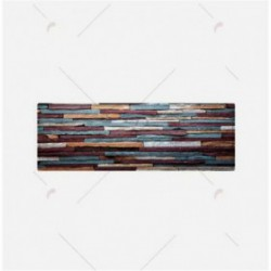 tapis imitation bois vintage