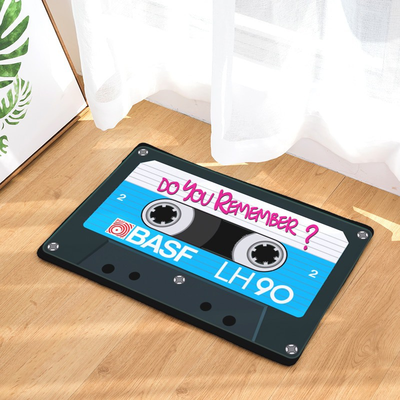 Paillasson Cassette Bleu