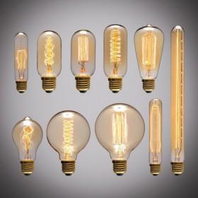 Gamme  Ampoule Vintage E27 220 V 40 W
