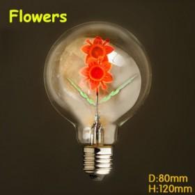 Ampoule  filament led E27 40 W 220 V Fleurs