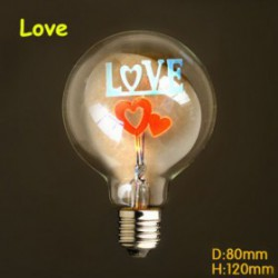 Ampoule  filament led E27 40 W 220 V Love