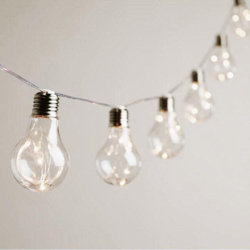 Guirlande Vintage 10 ampoules