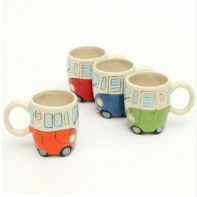VW Bus Mug 4 coloris