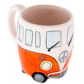 VW Bus Mug Orange