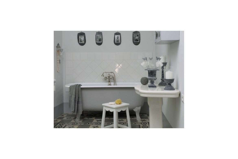 Une décoration vintage dans la salle de bain, mode d'emploi
