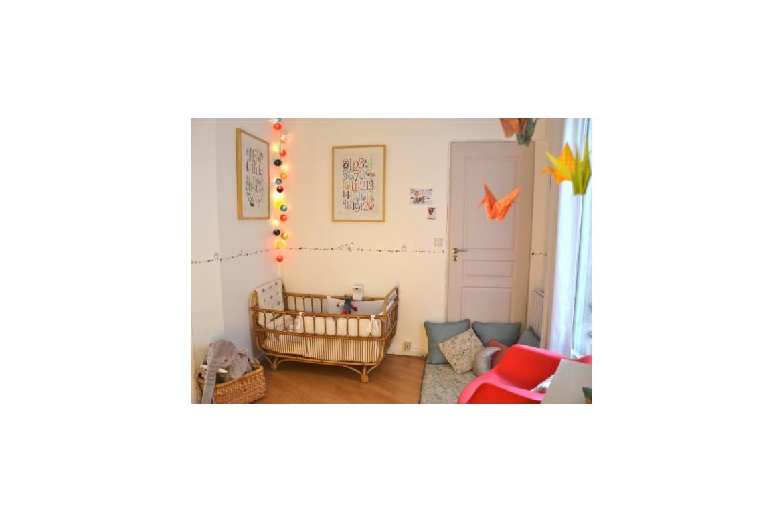 Une déco vintage dans la chambre de bébé